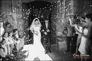 mariage cérémonie sortie eglise