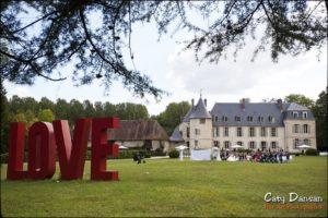 photo mariage cérémonie château de changy