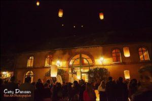 photo mariage lanterne celeste