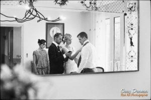 préparation mariage en famille