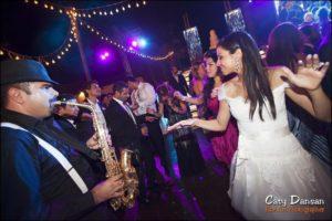 soiree mariage mariee saxophone